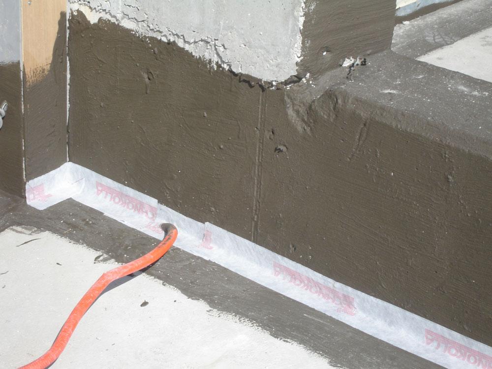 Izvođenje polimercementnih premaza na terase hotela