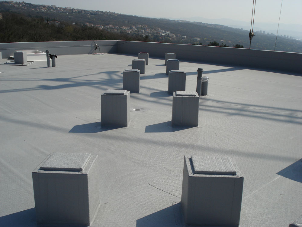 Protan SE 1.6mm - krov i detalji nosača za solarne panele